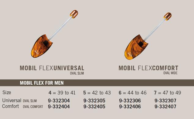 Mobile Flex with Spiral Spring for Gentlemen